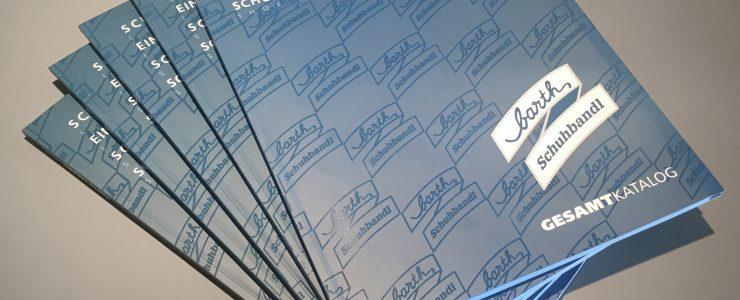Katalog, Registerstanzung, Grafik, Design, Fotoretusche, Druck