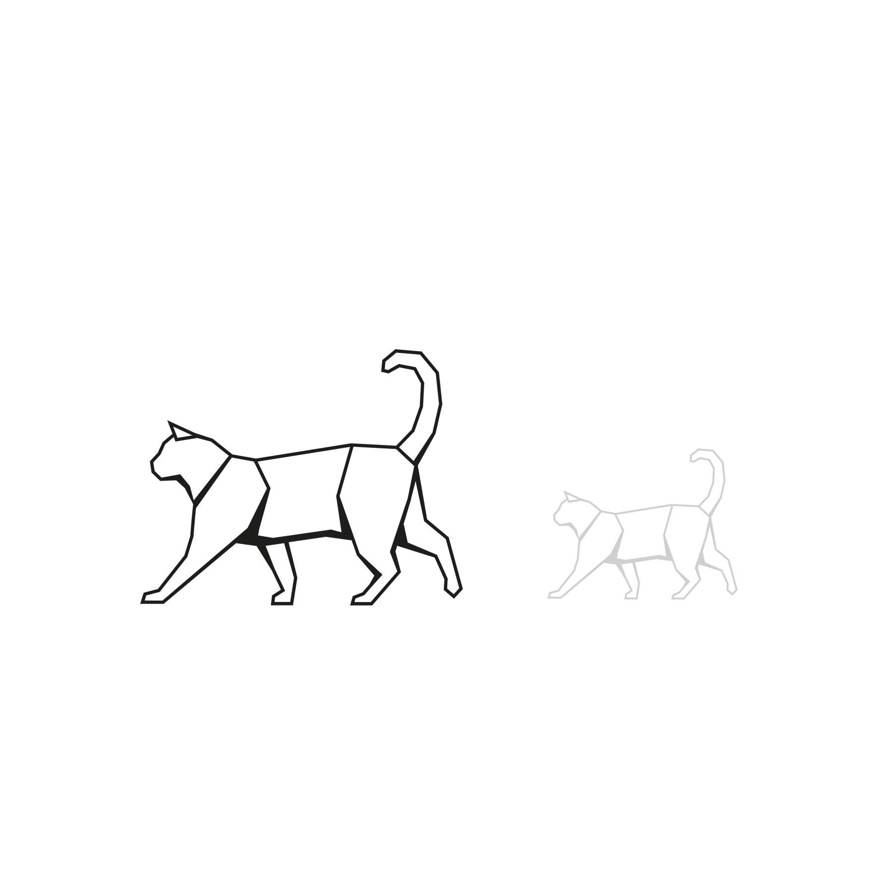 Illustration für die CBD Öl Serie Pets