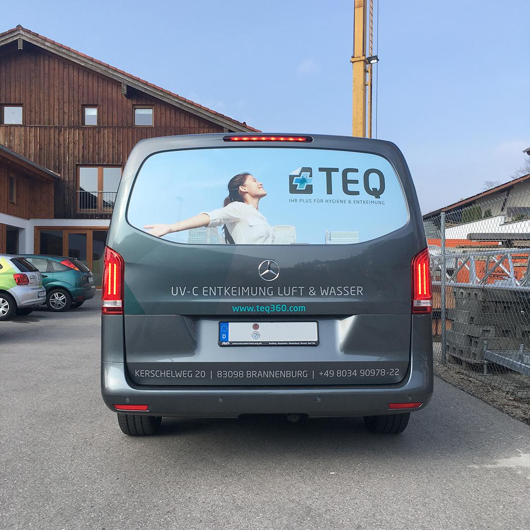 Fahrzeugbeschriftung TEQ