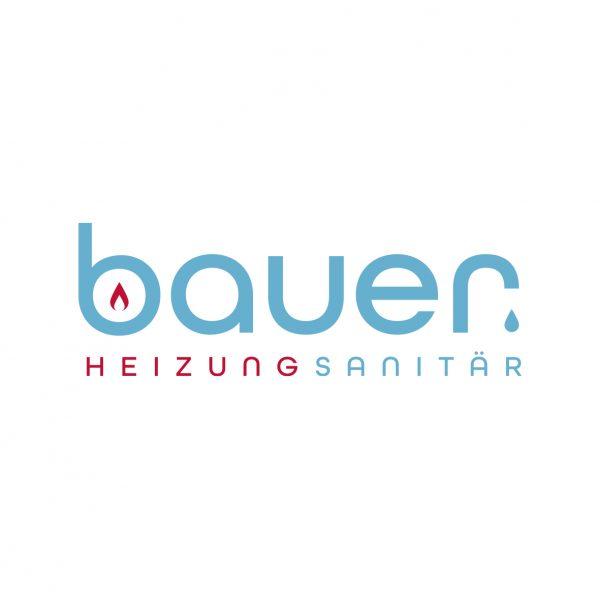Logoentwicklung Bauer Heizungsanitär